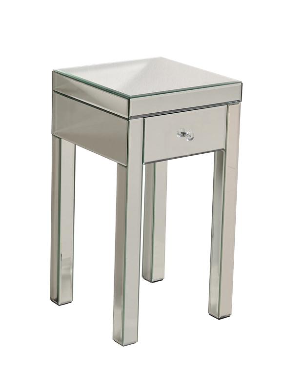 Mirrored Furniture Mirrored Nightstand