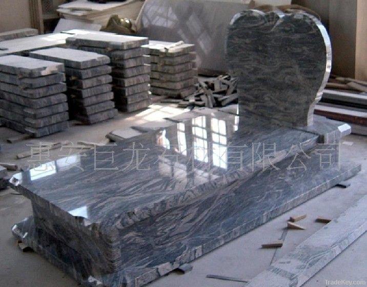 Granite marble tombstone