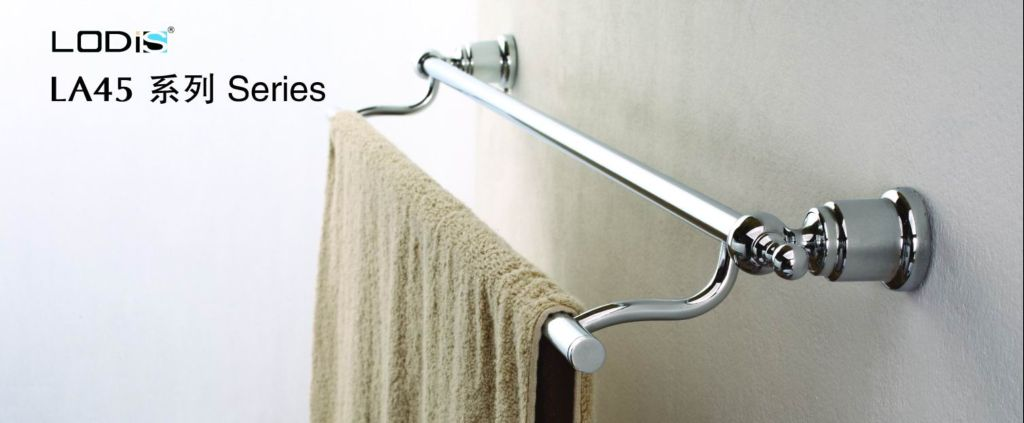one of the  LA45 SERIES :double towel bar