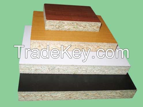 Plain Particle Board/Raw Chipboard/Melamine Face Particle Board/Veneer Face Chipboard