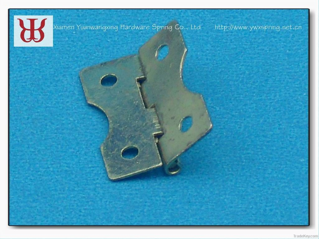 Manufacturer supplied brass furniture hinges
