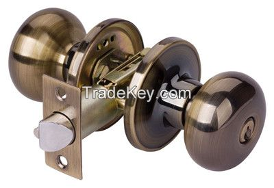 5791 SS-ET Stainless steel Cylindrical knob lock