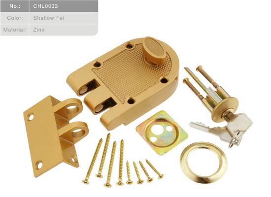 Karolley Single Cylinder Interlocking Deadbolt. 5-pin tumbler