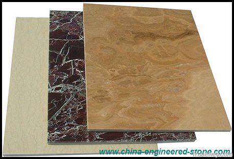Aluminum composite stone