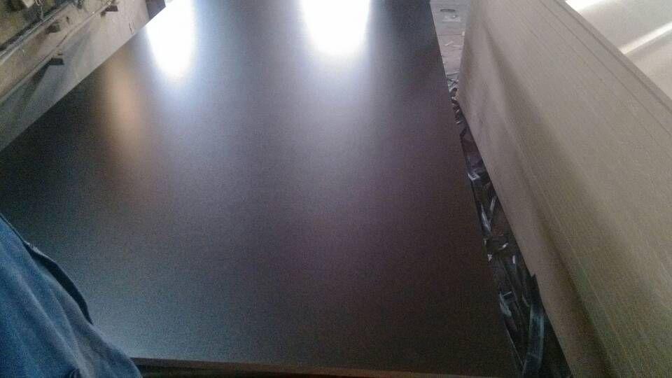Black Melamine Paper Laminated MDF