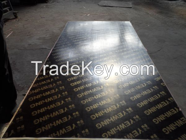 18mm brown film faced marine plywood for Formwork