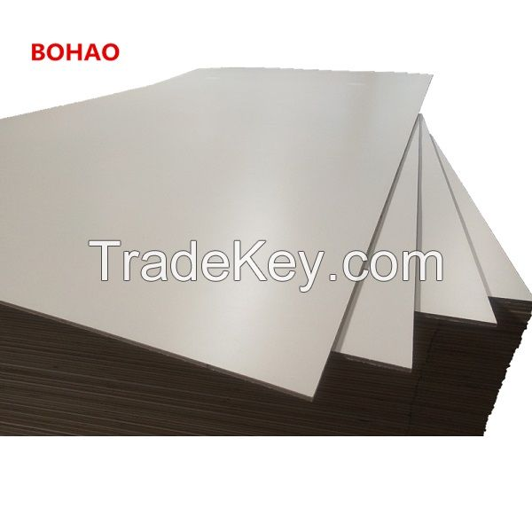 High Quality Warm White Melamine Paper Laminated Plywood for India