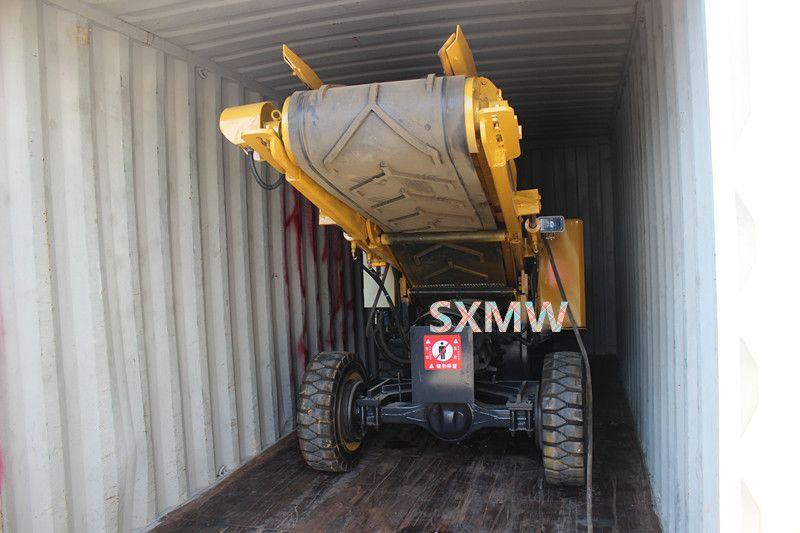 wheel SXMW 60 mucking loader Hydraulic tunnel mining loader
