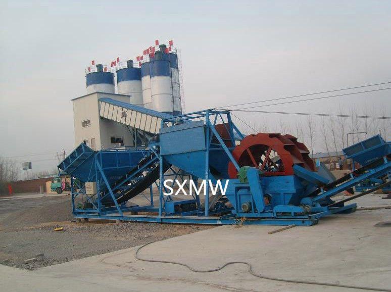 sand washing machine with sand washer for SXMW
