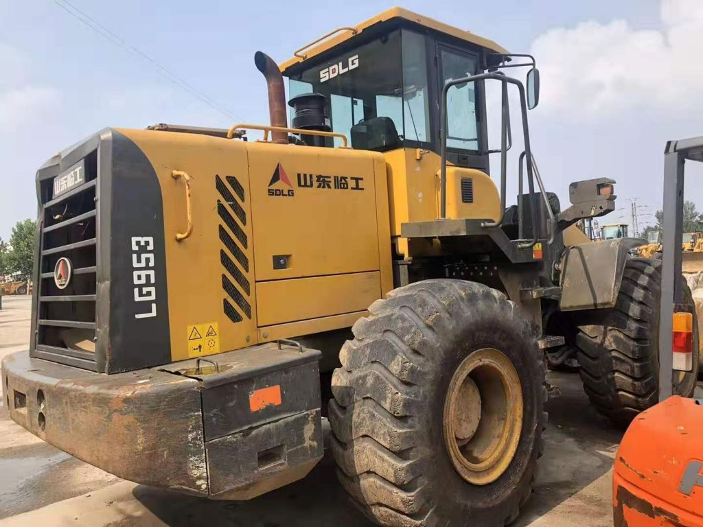 Used wheel loader second loader for china