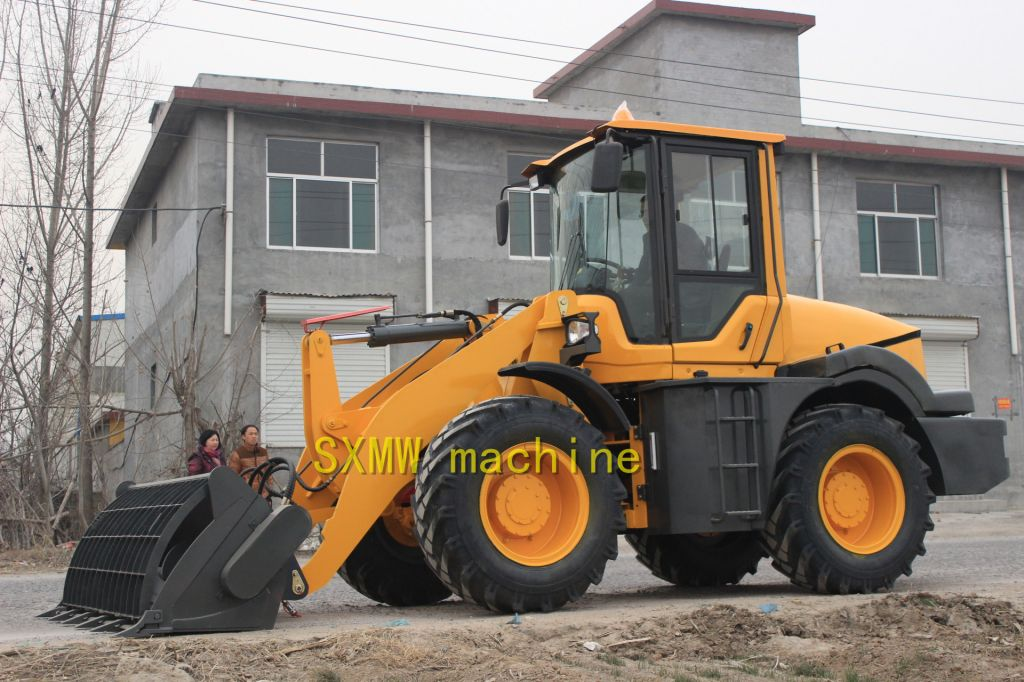 CHINA SXMW MACHINE compact buckt loader
