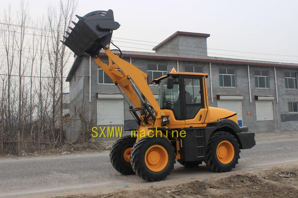 CHINA SXMW MACHINE compact buckt loader
