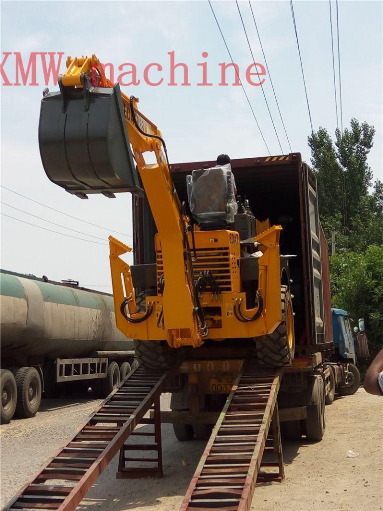 china made SXMW22-16 backhoe loader for sale