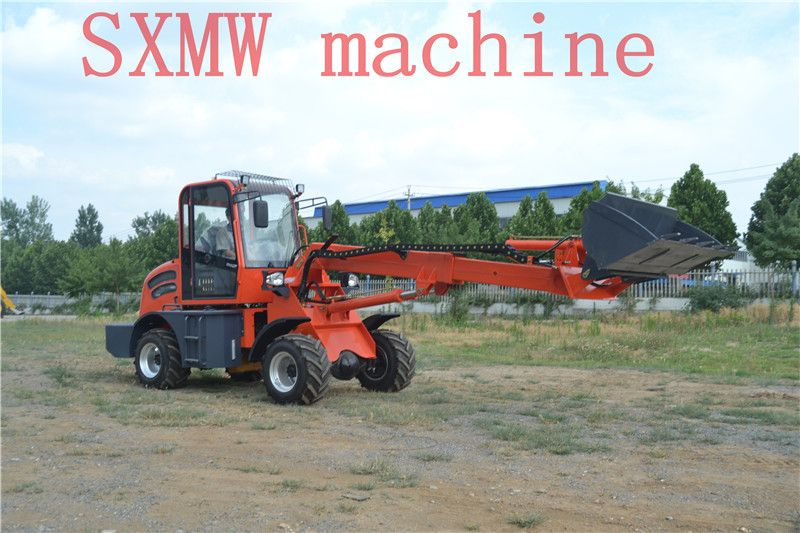SXMW machine long arm loader for from 0mm to 4500mm