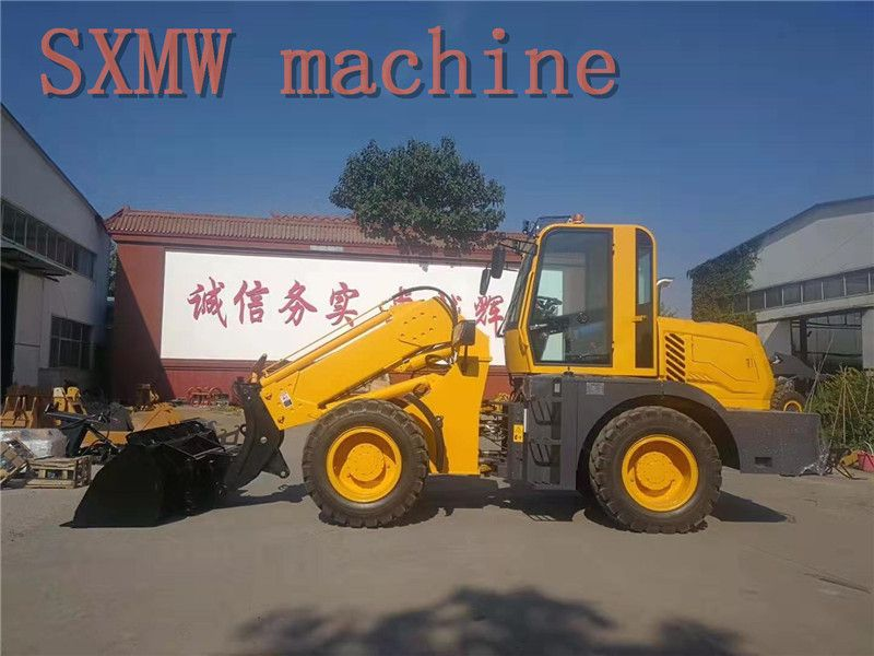 SXMW machine SXMW3000 telescopic boom loader for sale