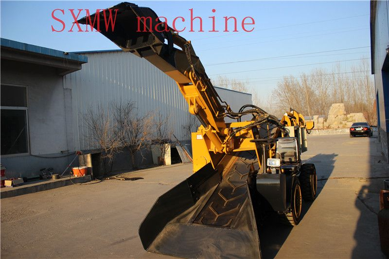 High quality mini loader, mucking loader used in mine, metal mine and non-metallic ore