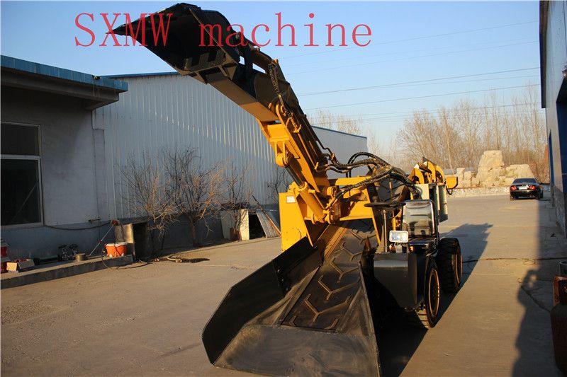 High quality SXMW machine Tunnel wheel loader digging machinery for mining underground mine