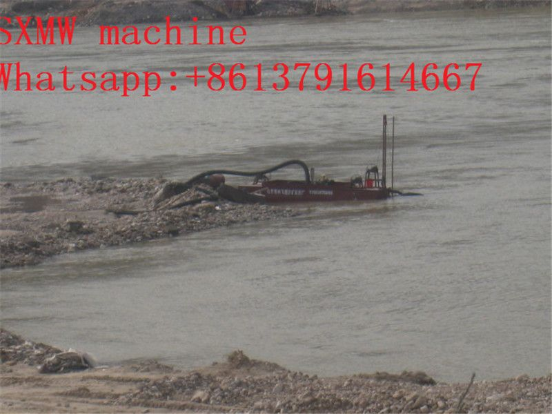 SXMW machine sand suction dredger with pumping sand