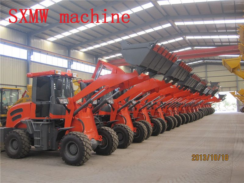 ZL20  compact and multi-function 2.0 ton payloader and buckt loader