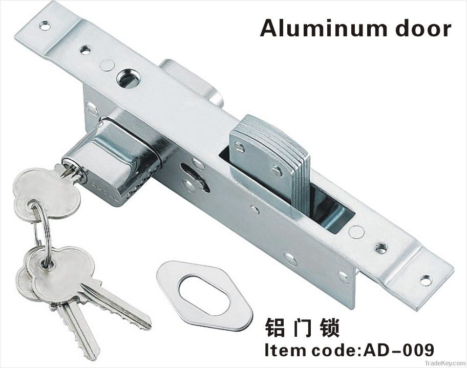 Aluminium door lock