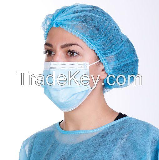 3ply Non Woven Disposable Surgical Face Mask