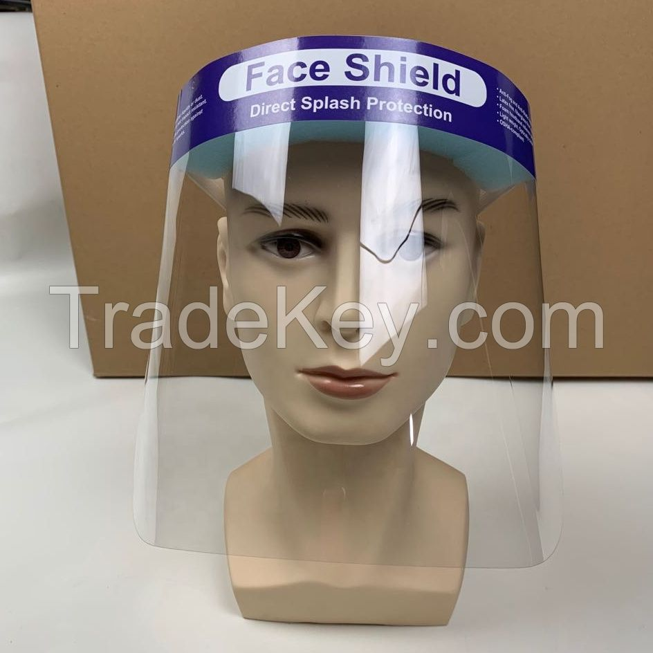 Transparent Protective Face Plastic