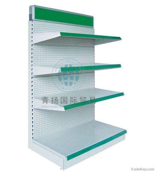 Standard supermarket shelf
