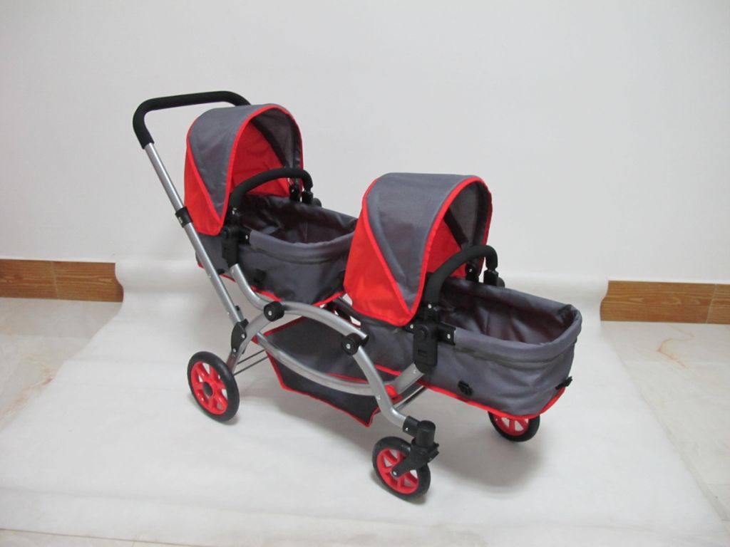 Deluxe Doll Multipurpose Twin Stroller