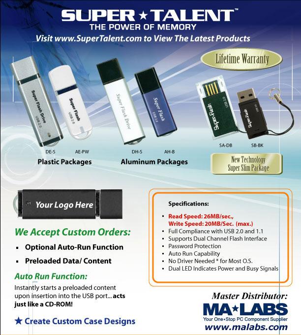 USB flash pendrives, memory modules, memory cards,hard disk