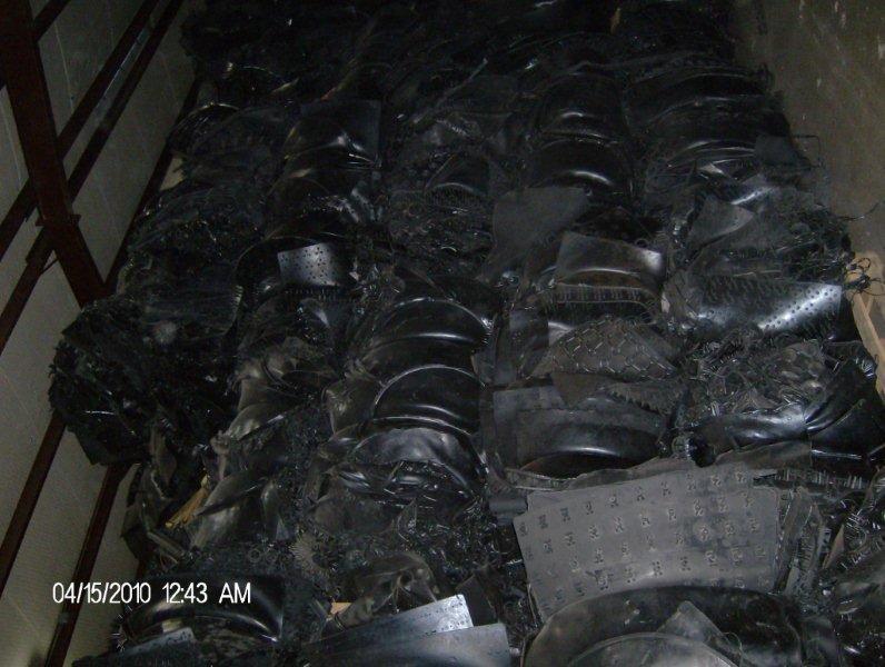 EPDM scrap rubber sheets