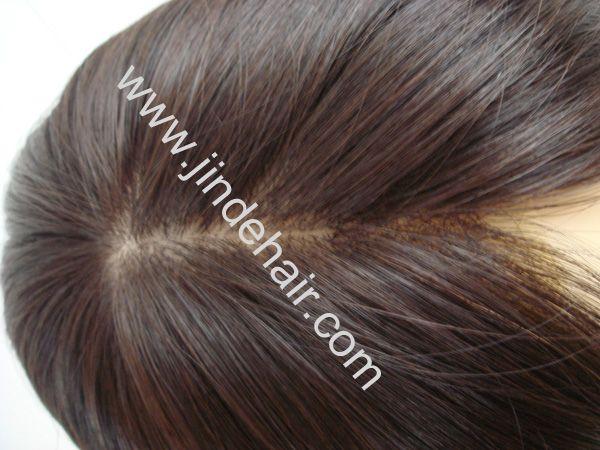 Silk Top Human Hair Wig