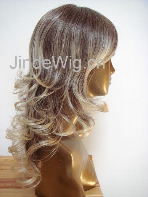 Human Hair Monofilament Wig