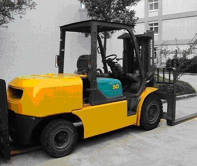 Komatsu Used Forklift 5 ton