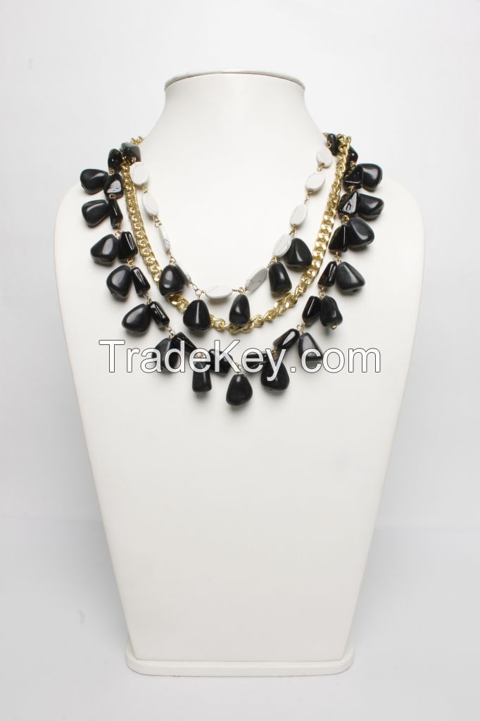 ChicKraft Black Necklace (23395)