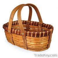 gift basket , wicker basekt , laundry basket