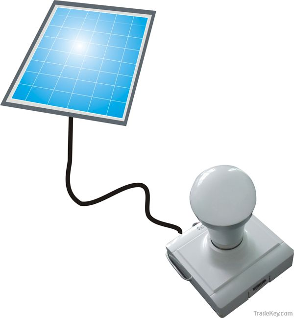 Removable Solar led bulb light with mobile charger