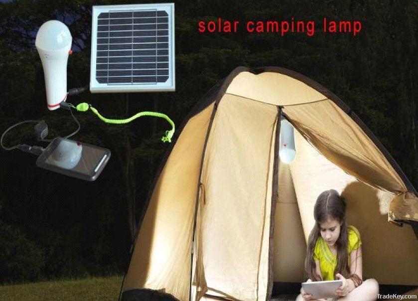 Multifunctions Solar LED Bulb Light