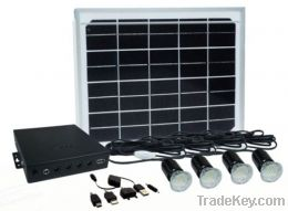 Multifunction solar light power system