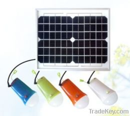solar powered adjustable brightness solar camping light