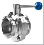 quick-installed butterfly valve