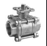 3pc inner thread ball valve