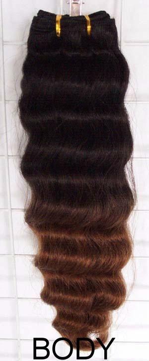 100% human hair weft