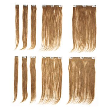 100% human hair clip-in extension