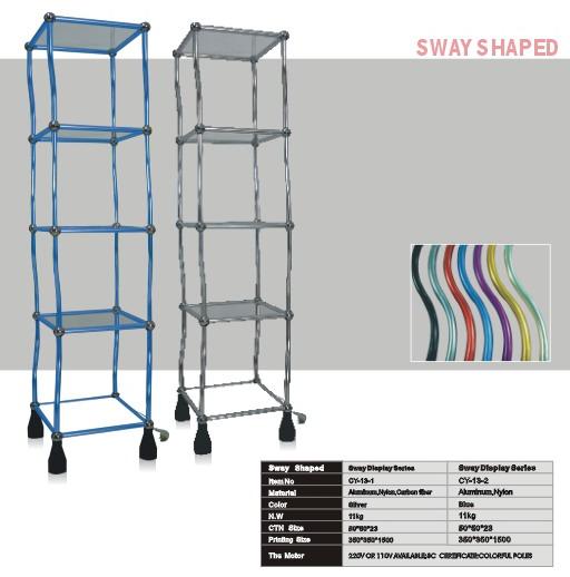 SWAY DISPLAY/ TRIPPLE SCREEN/ALU-LINE STAND