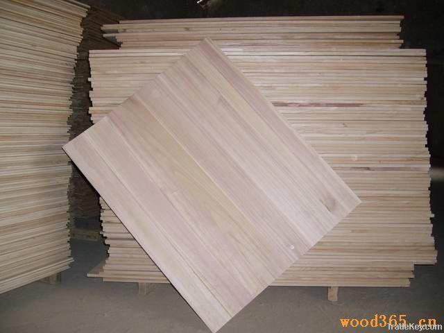 Paulownia edge glue panels