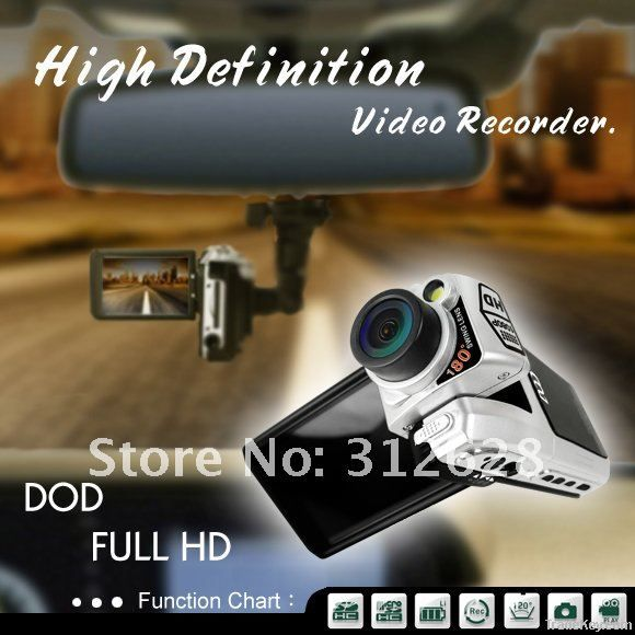 Car camera with 12MP 1080P F900LHD