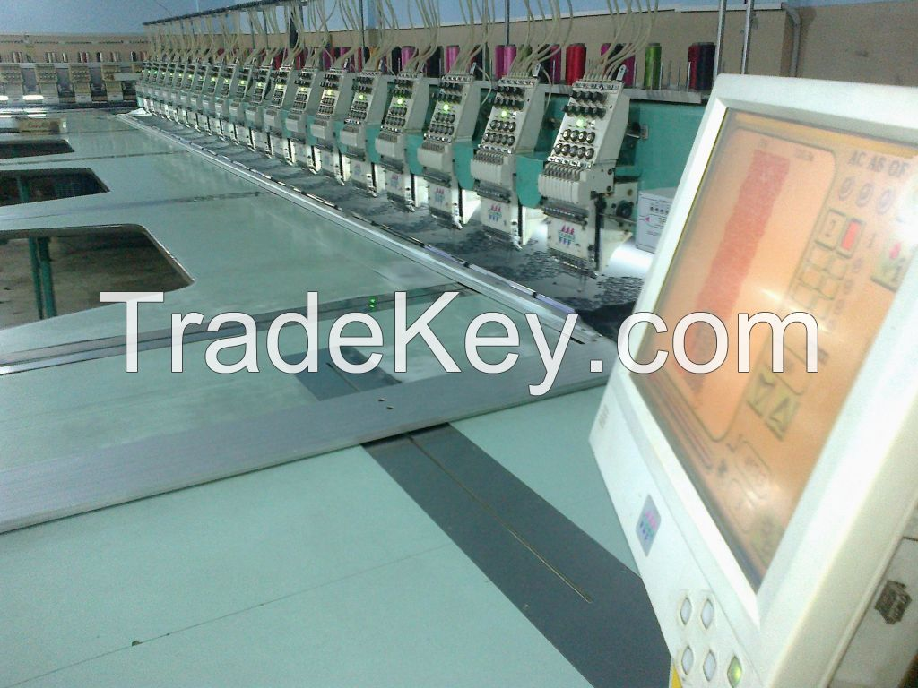 EMBROIDERY MACHINE AVAILABLE IN VERY GOOD PRICE