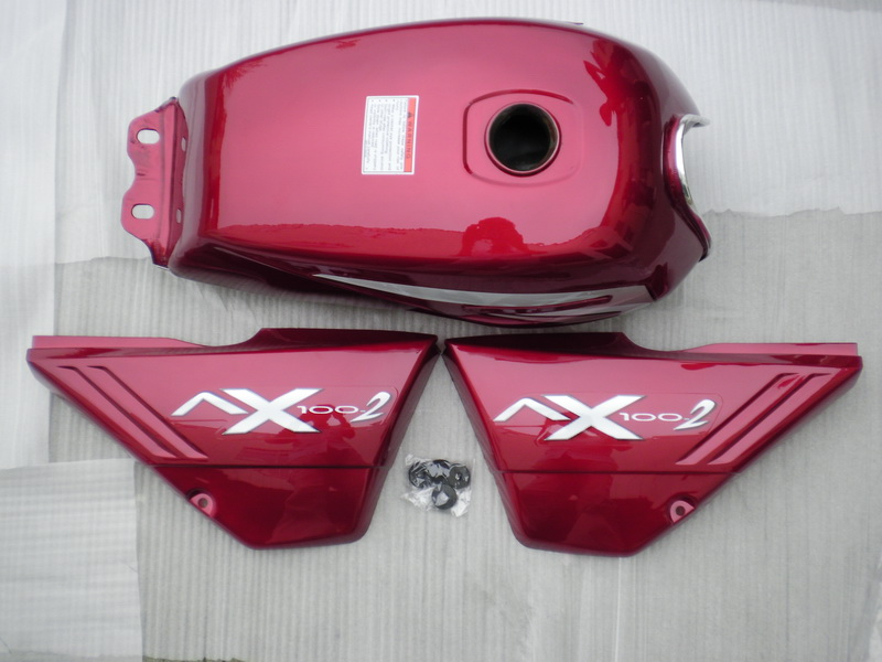 AX100 Motorcycle parts(Fuel Tank and Side Cover)