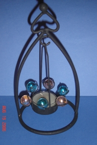 Decorative Tea Light Candle Holders with marbles