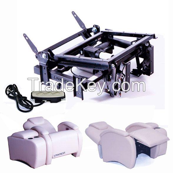 zero gravity recliner mechanism